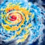 Swirling Storm System